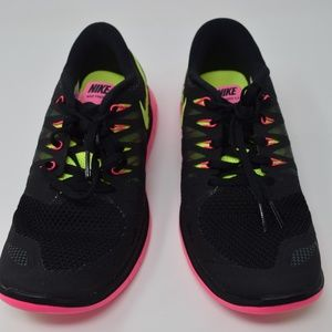 02365a2199d1 Nike Shoes - Nike Free 5.0 Black Volt  Pink 642199-002 NEW
